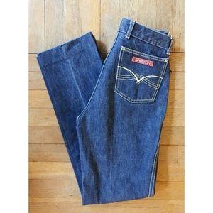 Vintage 70s SASSON jeans High Waist Straight Leg